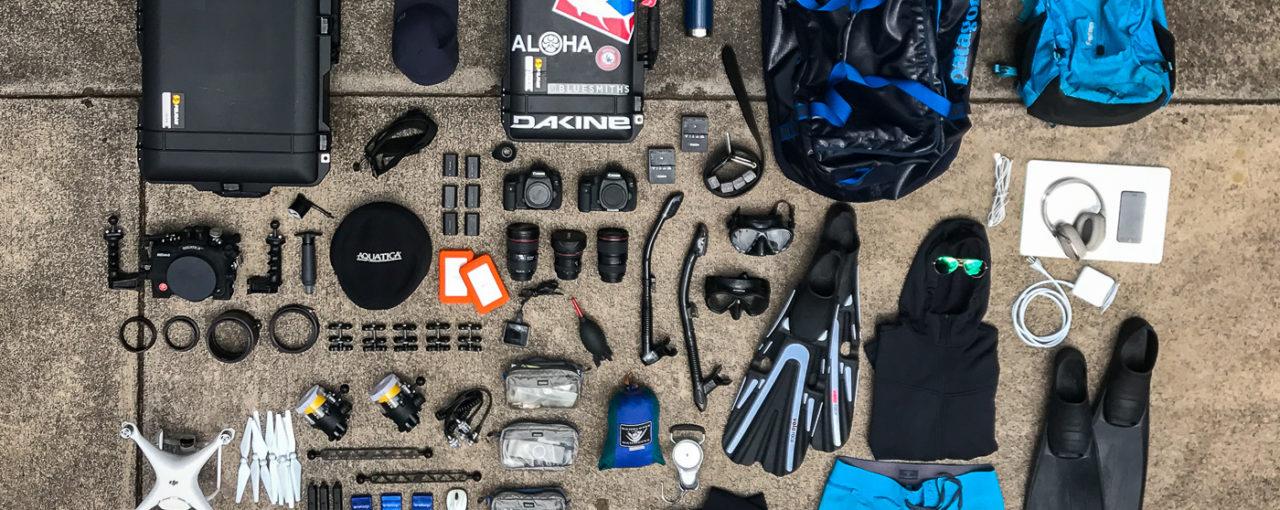 Tonga 2017 gear prep